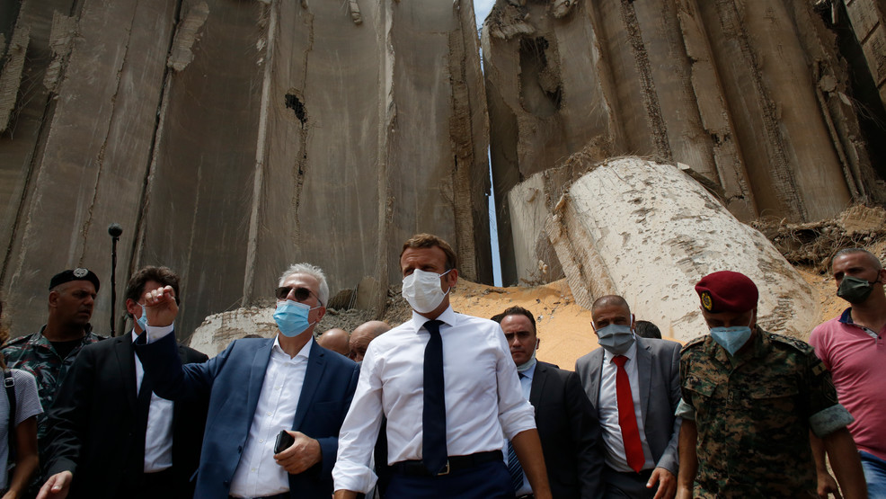 Lebanese Vent Fury At Leaders Over Blast As Macron Visits Kdnl