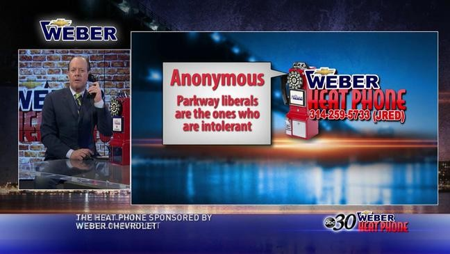 weber chevrolet heat phone forced to be anonymous in parkway